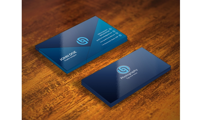design luxury business card within 24 hours