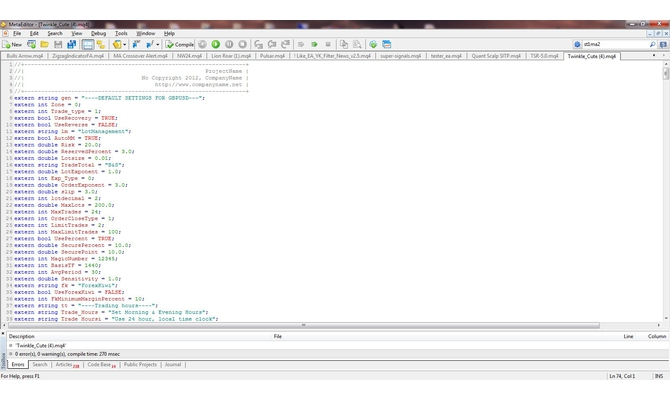 decompile EX4 to MQ4