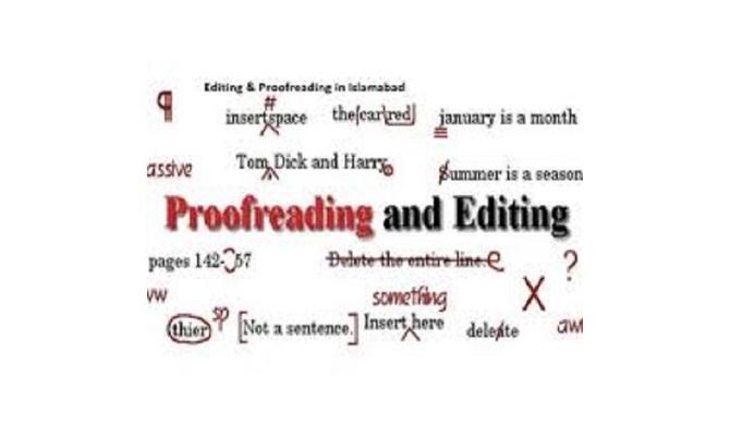 be your professional In-dept Editor and Proofreader $10 per 1500 words